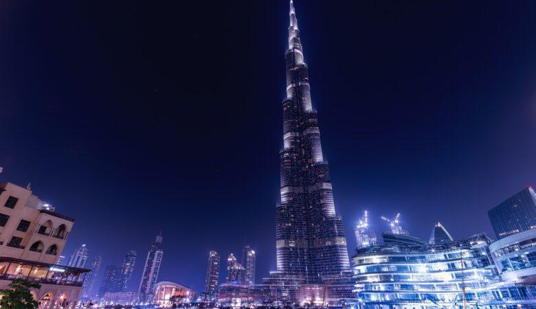 Auf dem höchsten Gebäude der Welt sein ist schön, aber auch von außen ist es wunderbar.