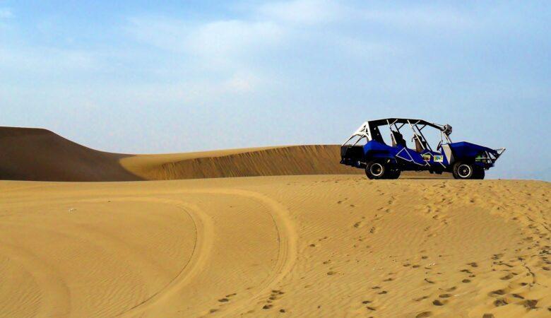 Buggys sind nicht nur in der Wüste oder in Dünen ein exellentes Fortbewegungsmittel. Einen Dünenbuggy fahren macht viel Spaß.