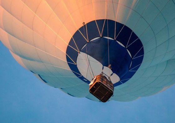 Es ist ein einmaliges Gefühl, in einem Heißluftballon zu fliegen
